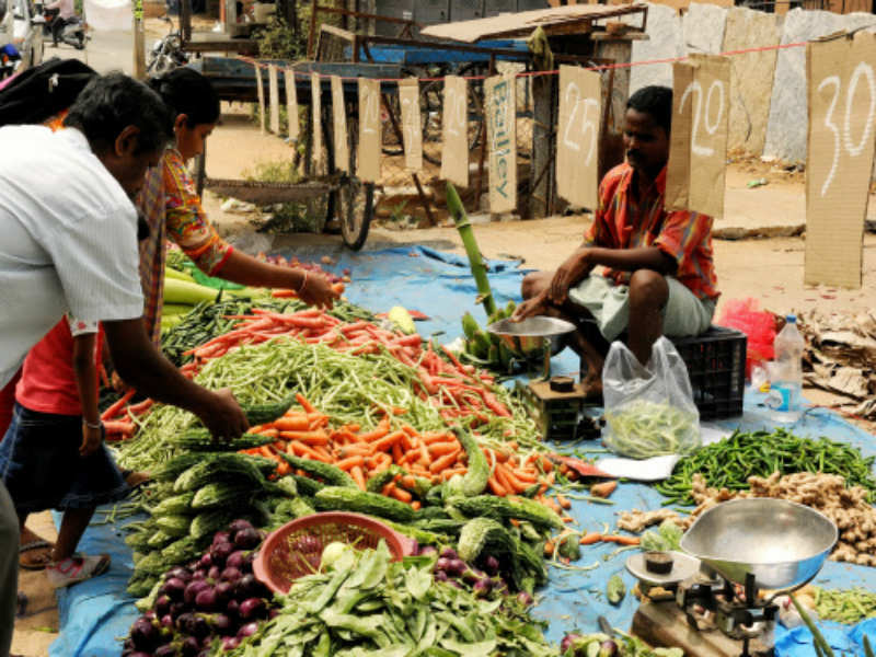 September retail inflation flat at 3.28%, factory output rises to 9-month high - Times of India