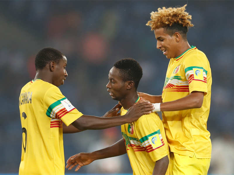 FIFA U-17 World Cup: Mali enter knock-out round with 3-1 win over New Zealand - Times of India