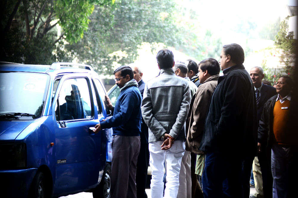A few shady Delhi spots where Kejriwal's blue WagonR could be found