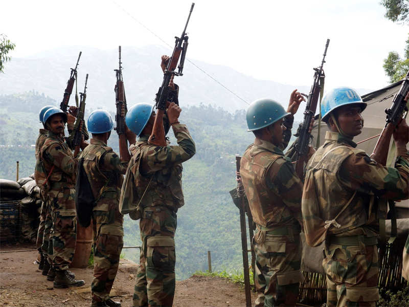 Indian peacekeepers in Sudan awarded UN medal - Times of India