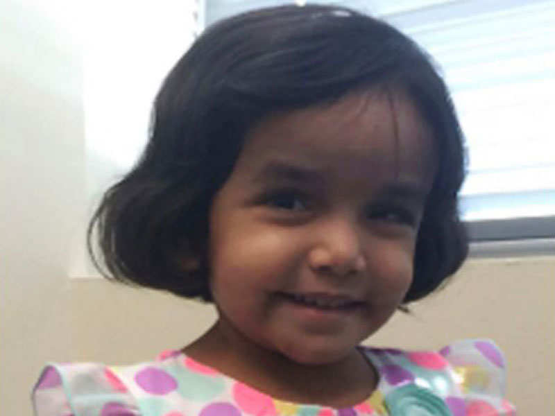 US cops find body during search, 'most likely' of 3-year-old missing Indian girl