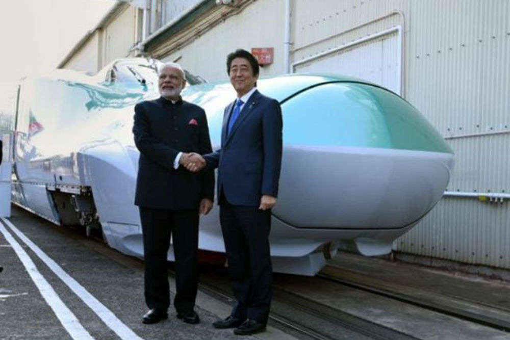 Mumbai to Ahmedabad bullet train to travel under the sea!