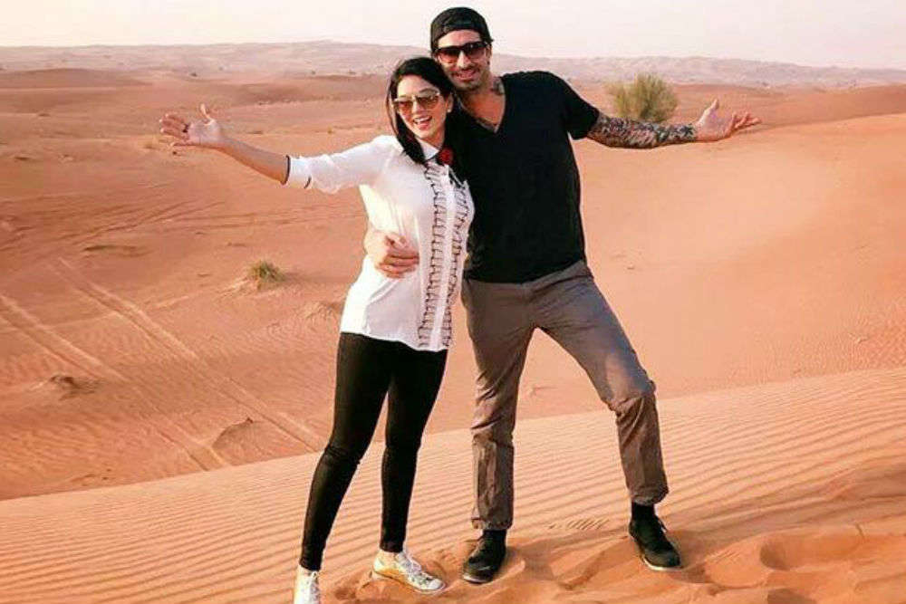 Travel pictures of Sunny Leone are as fresh as morning dew!