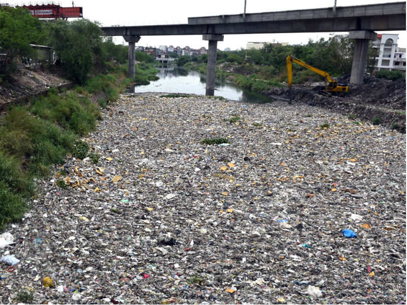 NGT: Delhi govt faces NGT wrath over use of plastic in city - Times of India