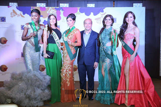 Peru wins Gold at Miss Earth 2017 Long Gown competition