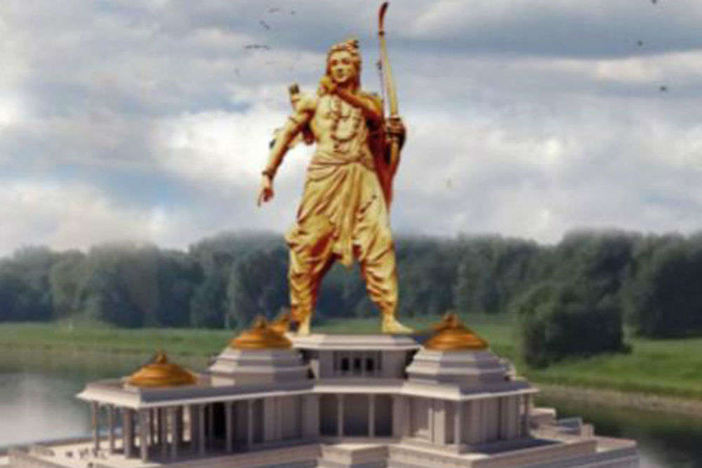 This Indian state is planning to build a statue of Lord Ram bigger than the Statue of Liberty!