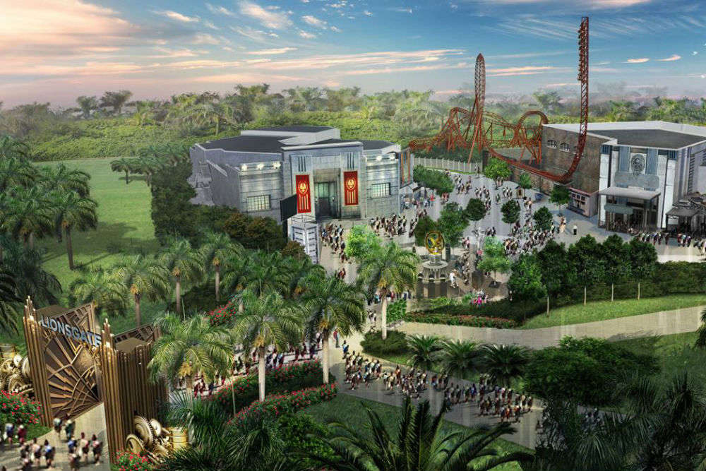 "The first-ever ""World of Hunger Games"" theme park opens in Dubai"