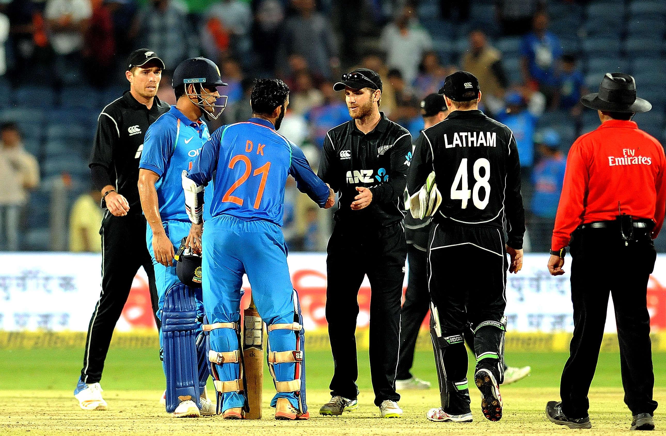 India vs New Zealand 2nd ODI in Pune, India won