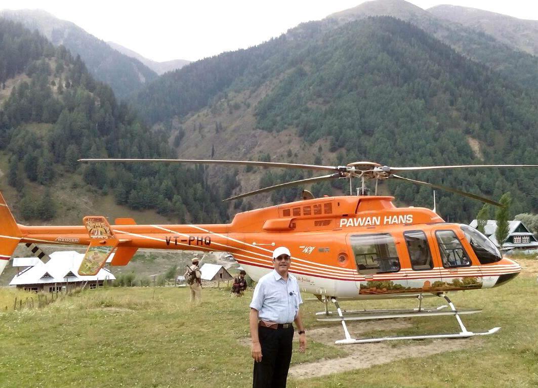 Doda-Jammu chopper service starts operating bi-weekly