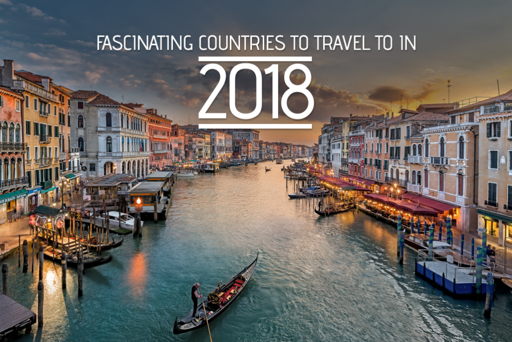 Best countries to visit in 2018
