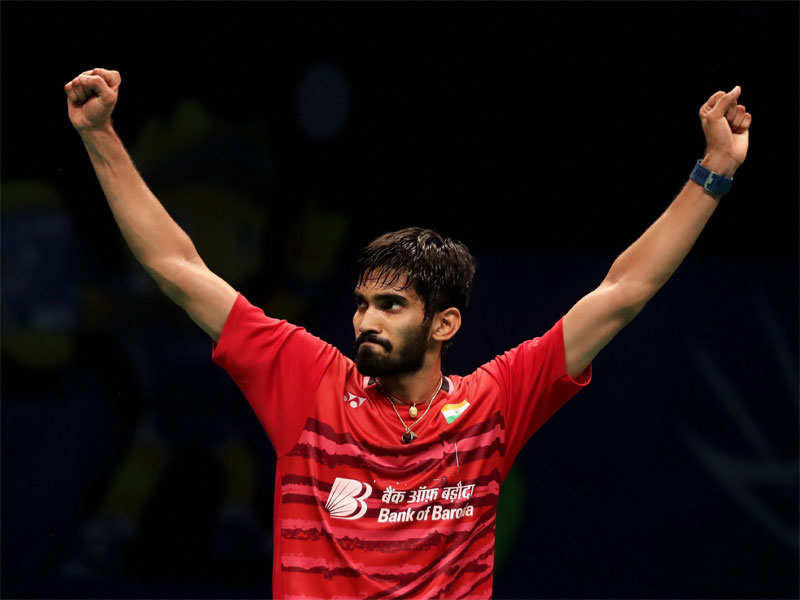 Record-setting Kidambi Srikanth rises to No 2 in BWF rankings - Times of India