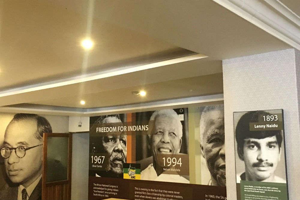 Gandhi museum opens in Durban, South Africa