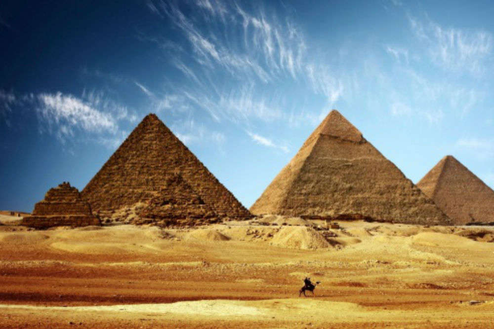 Scientists discover a mysterious, secret space in the Great Pyramid of Giza