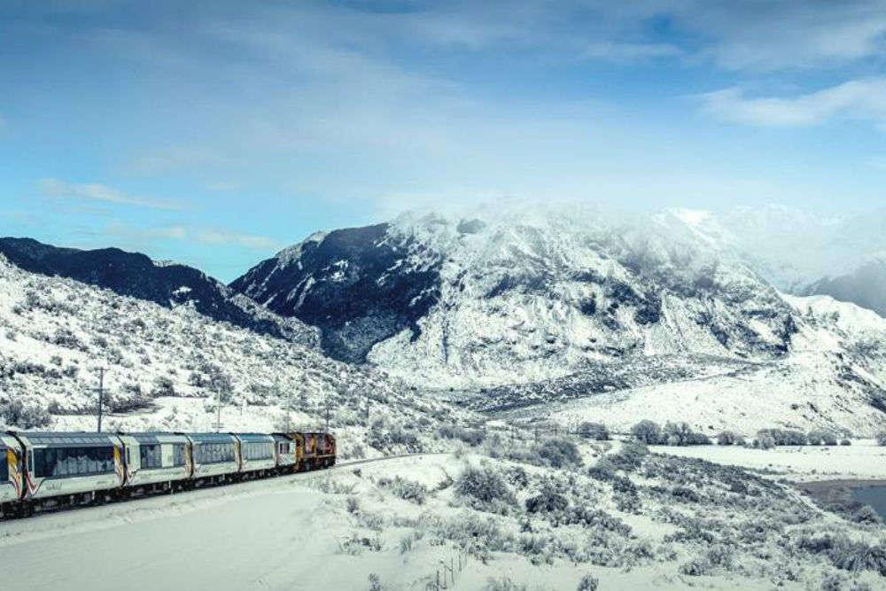 New Zealand's TranzAlpine train celebrates 30 years of operation