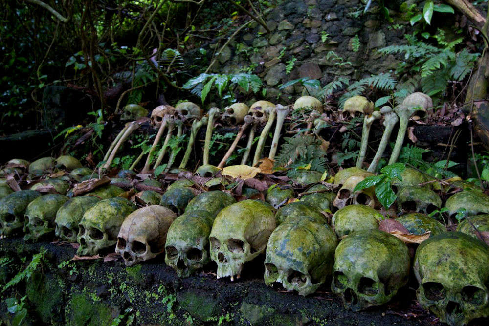 The eerie world of Skull Island in Trunyan, Bali