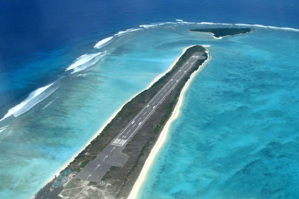 Lakshadweep gets a new airport