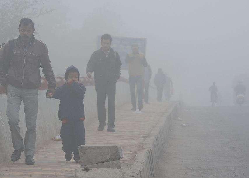 Image result for Delhi Air pollution Severe