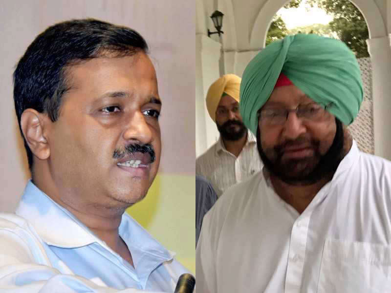 Delhi Smog issue: Punjab CM Amarinder Singh accuses Arvind Kejriwal of politicizing stubble burning issue, rejects request for meeting