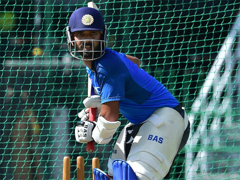 Rahane looks to iron out flaws against spin - Times of India