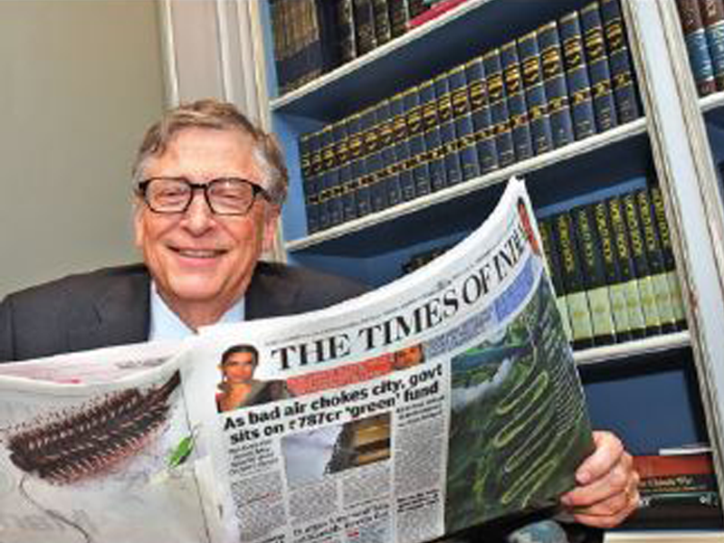 India?s education system needs to be far better than it is today: Bill Gates - Times of India
