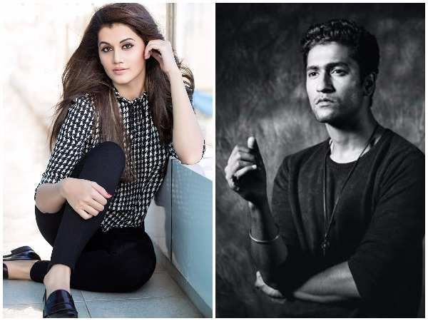 Taapsee Pannu and Vicky Kaushal to team up for 'Manmarziyan'