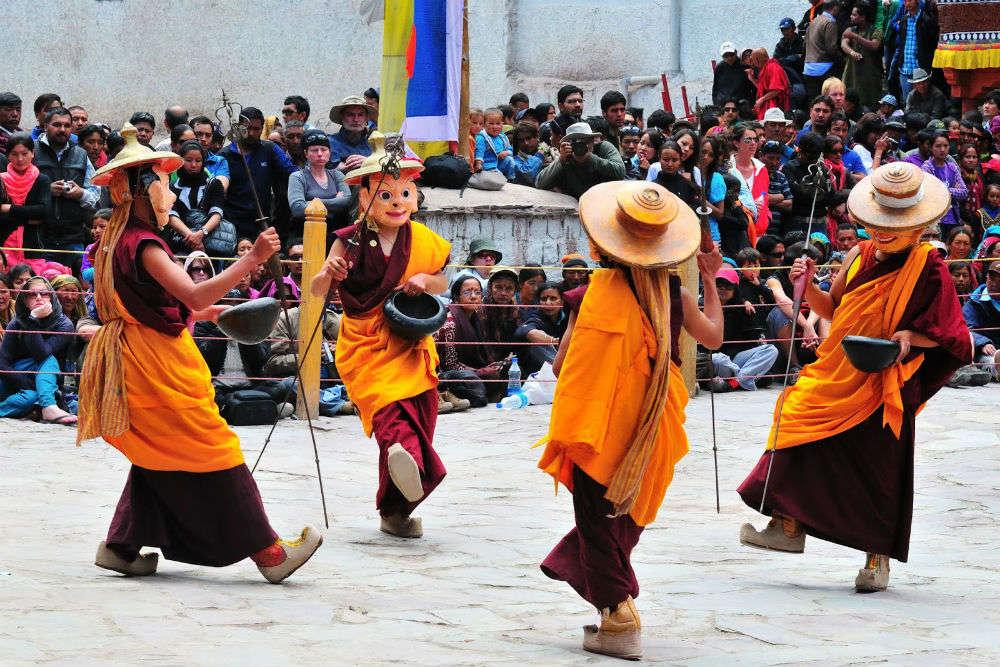 Celebrating Losar festival of Ladakh