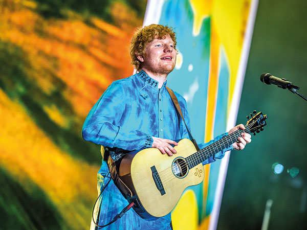 Ed Sheeran: Mumbai, you are special and this night is magical!