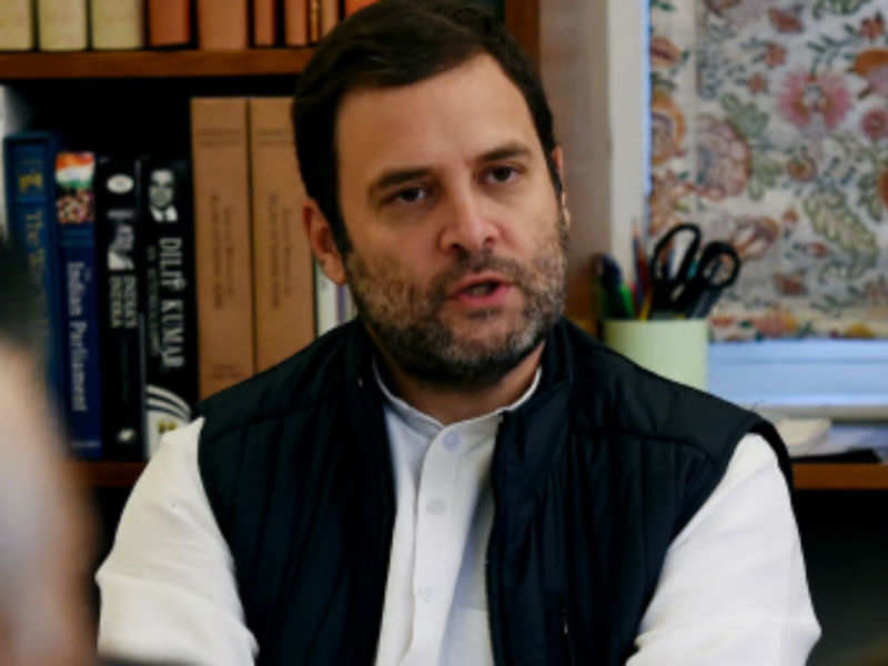 Rahul: Capt welcomes Rahul's proposed elevation as party president
