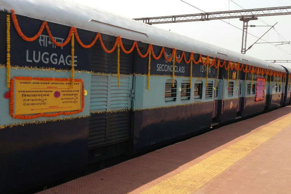 Special train by Indian Railways to connect Chhattisgarh's Kirandul district