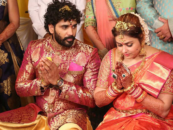 Namitha Wedding Photos Actor And Bigg Boss Tamil Contestant Gets Married To Her Boyfriend Veerandra In Tirupati