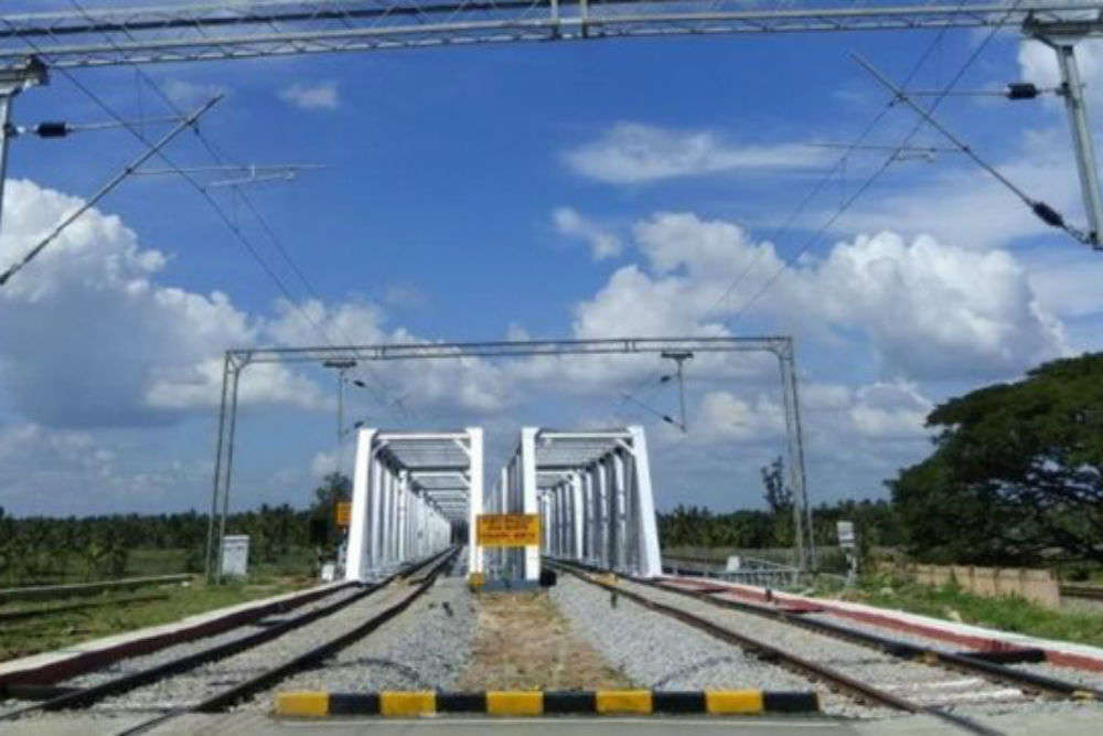 Double railway line between Bengaluru-Mysuru opens for traffic