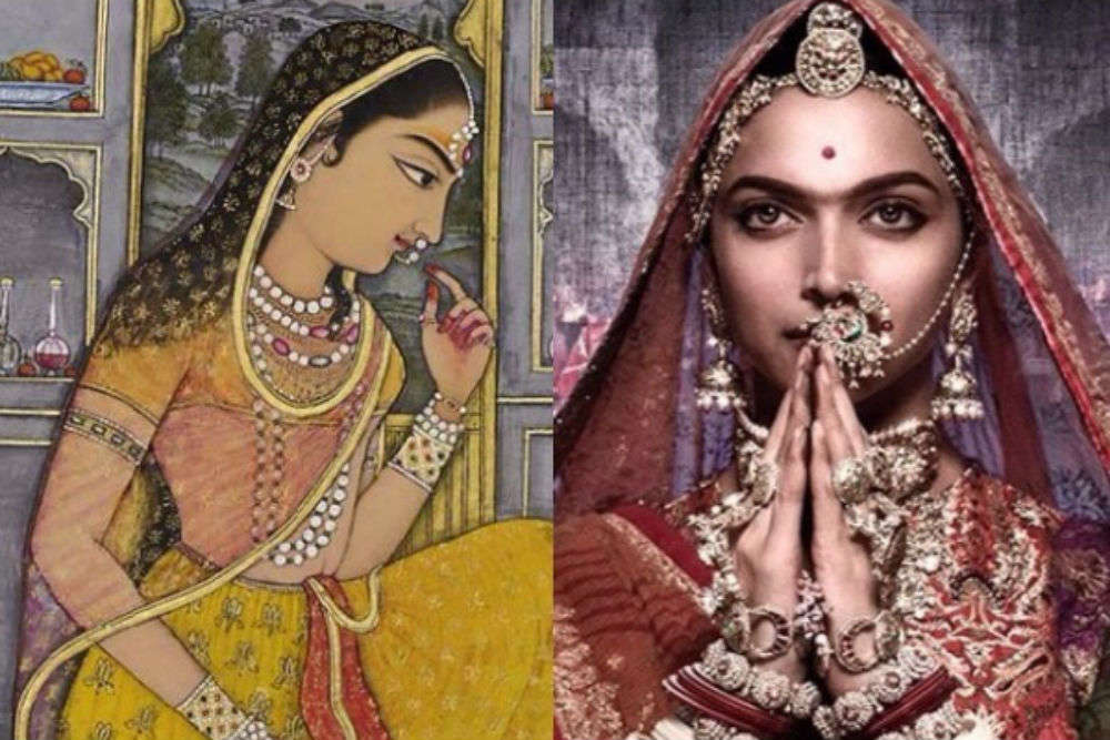 "ASI removes plaque that read ""Here Khilji had seen Padmini"" fearing Padmavati Controversy"