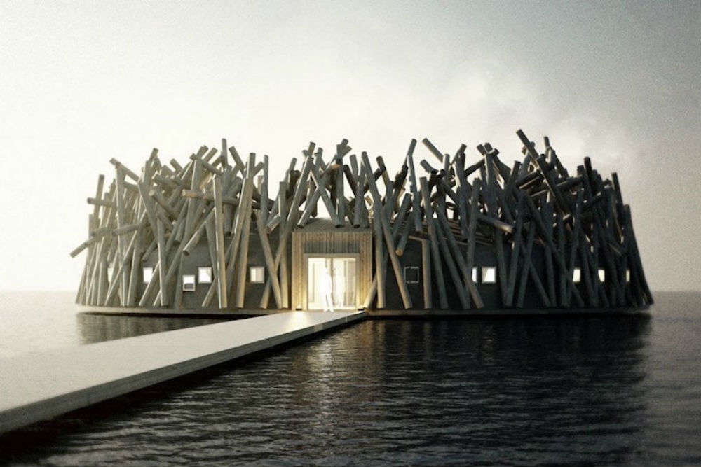 Swedish Lapland will soon be home to this amazing floating hotel