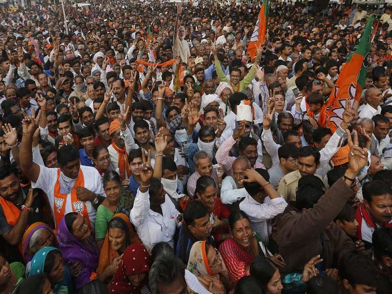Campaigning for Gujarat Assembly Election 2017 - The Times of India