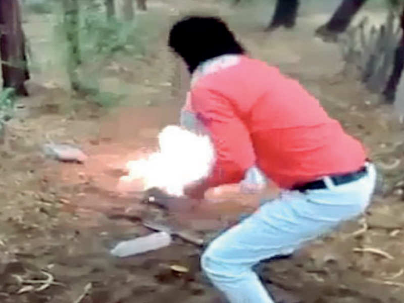 Reprisal for love jihad? Man killed, body set on fire - Times of India
