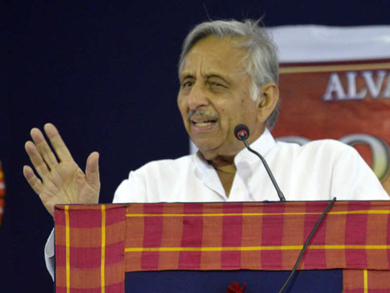 Congress leader Mani Shankar Aiyar stokes fresh row, calls PM Modi a 'neech aadmi' - Times of India