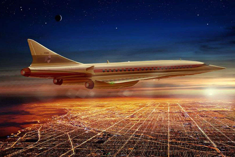Boom Technology Inc. making aircrafts capable of travelling twice faster than sound!