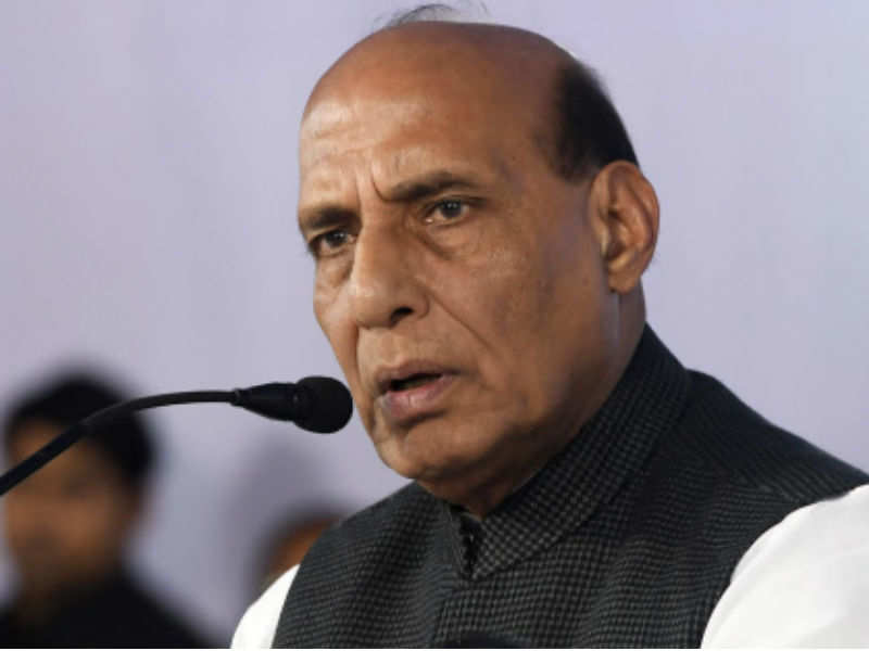 Rajnath Singh: Rajnath Singh asks border states to check influx of Rohingyas