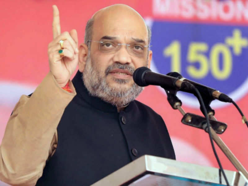 Amit Shah: Amit Shah lists expressions used by Congress leaders against Narendra Modi