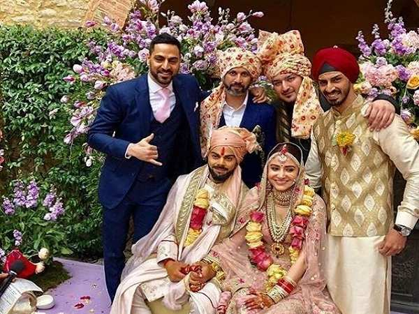 VIDEO Anushka Sharma And Virat Kohlis Lavish Destination Wedding