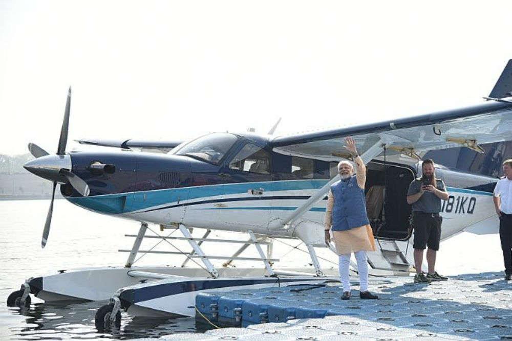 Mr. Modi to travel in a sea-plane to visit Ambaji temple from Sabarmati
