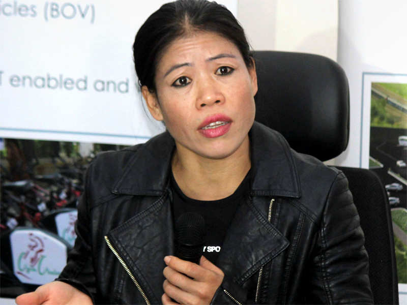 Olympic gold is my ultimate target: Mary Kom - Times of India