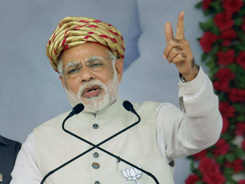 Narendra Modi: Modi: UPA forced banks to lend to a few industrialists