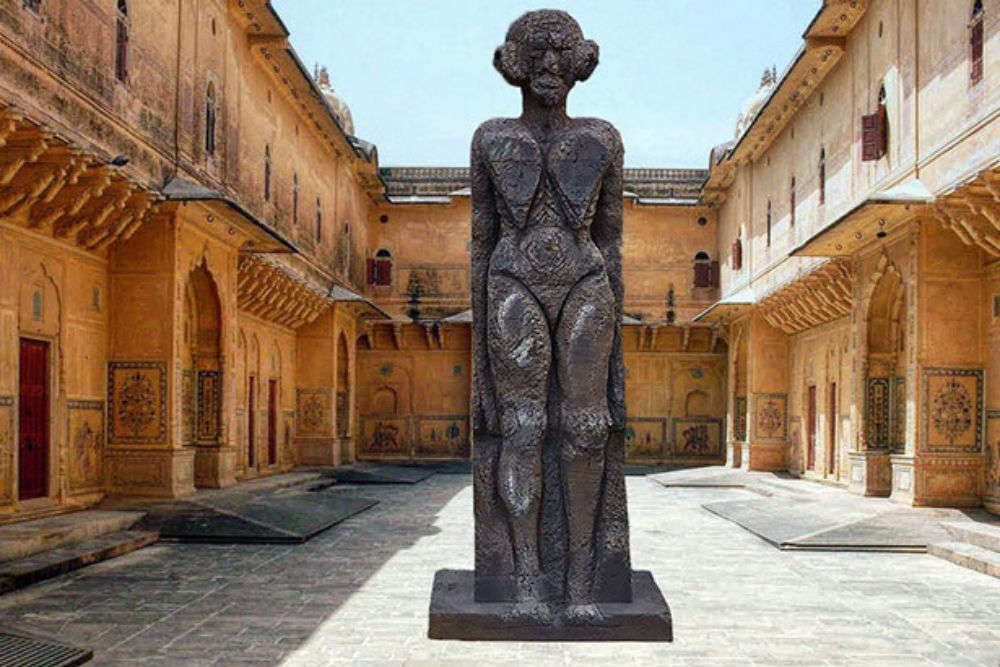 The wait is over – India's first Contemporary Sculpture Park comes up in Jaipur's Nahargarh Fort