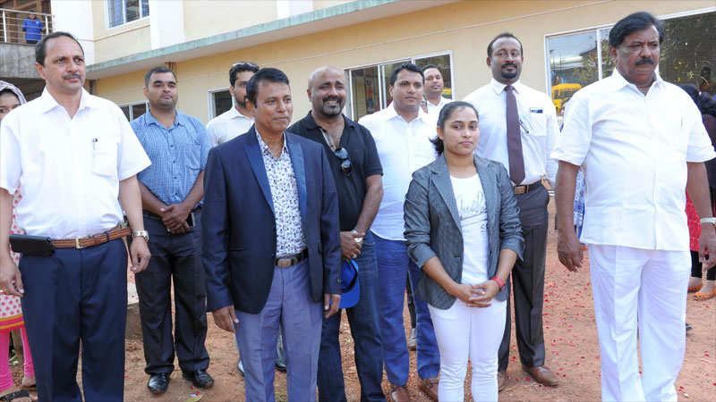 Kanachur Agon – 2017 declared open by Dipa Karmakar
