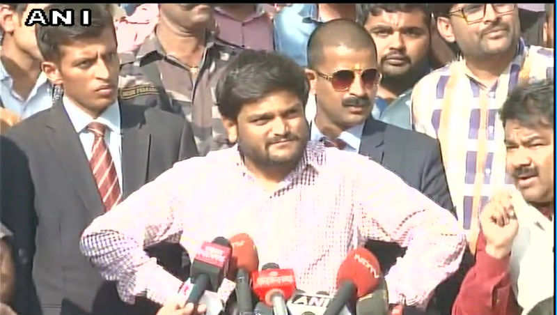 EVMs are hackable: Hardik Patel responds to poll results - Times of India