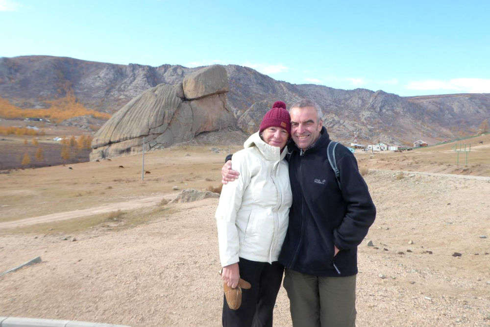 Retired couple uses local transport to travel 19,000 km from UK to Hong Kong