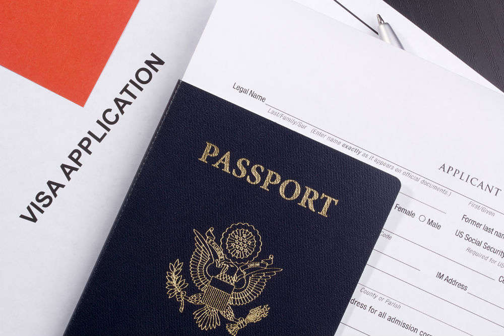 Now it is easier to fill visa application forms, just pick up your phone