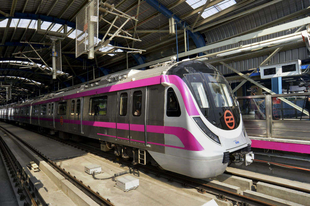 Delhi Metro Magenta Line: some interesting features of the 'driverless' train