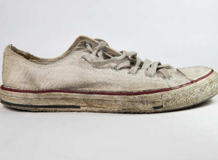 This Genius Hack Will Make Your White Shoes Again